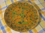 Decorative plate - made in Greece - G. Halkides