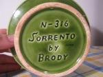 N-316 Sorrento by Brody underside