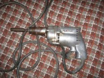 Vintage power drill, looks awesome