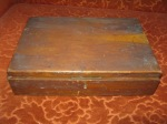 Old wooden cigar humidor (marked 1888) - needs a bit of TLC