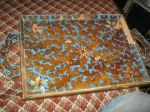 Kind of busted but beautiful antique tray