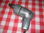 """""""Vintage power drill, looks awesome"""""""