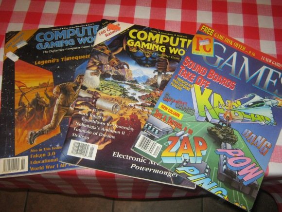 old computer gaming magazines