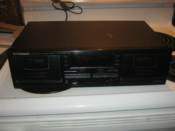 Pioneer cassette player