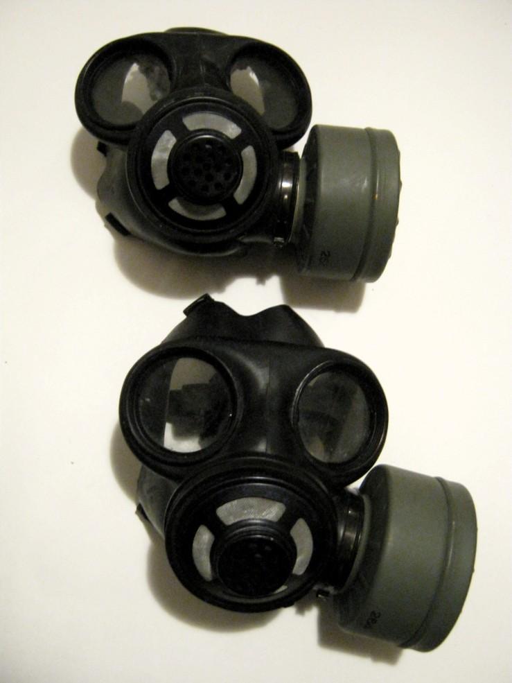 nato canada gas masks?