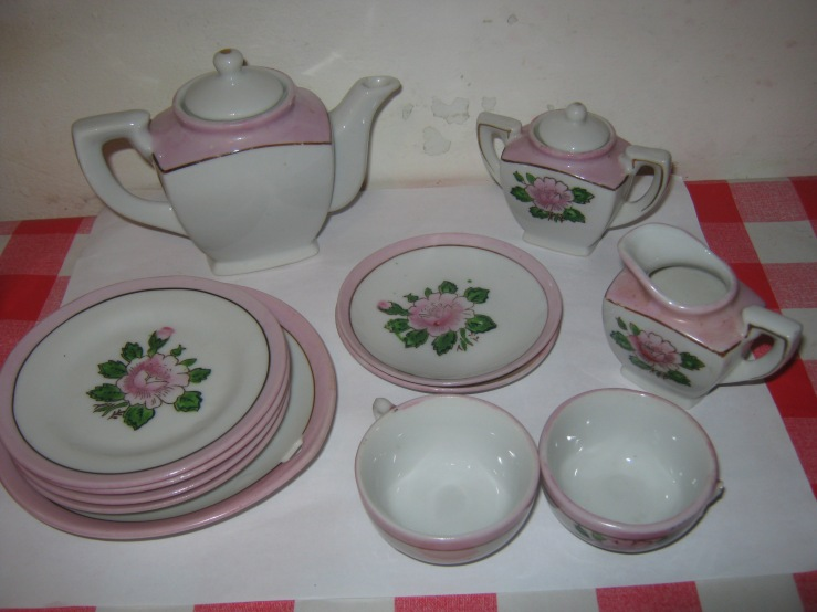tea set made in japan