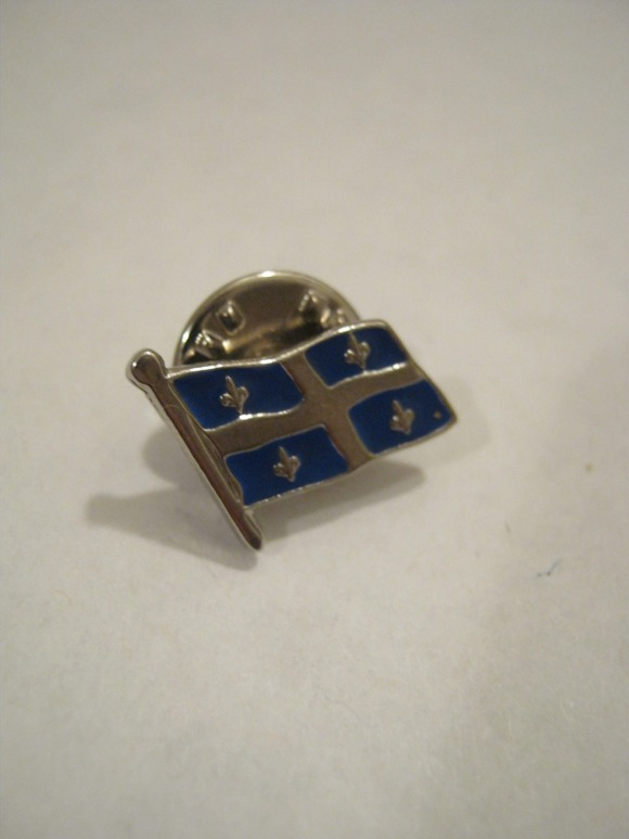 quebec flag pin