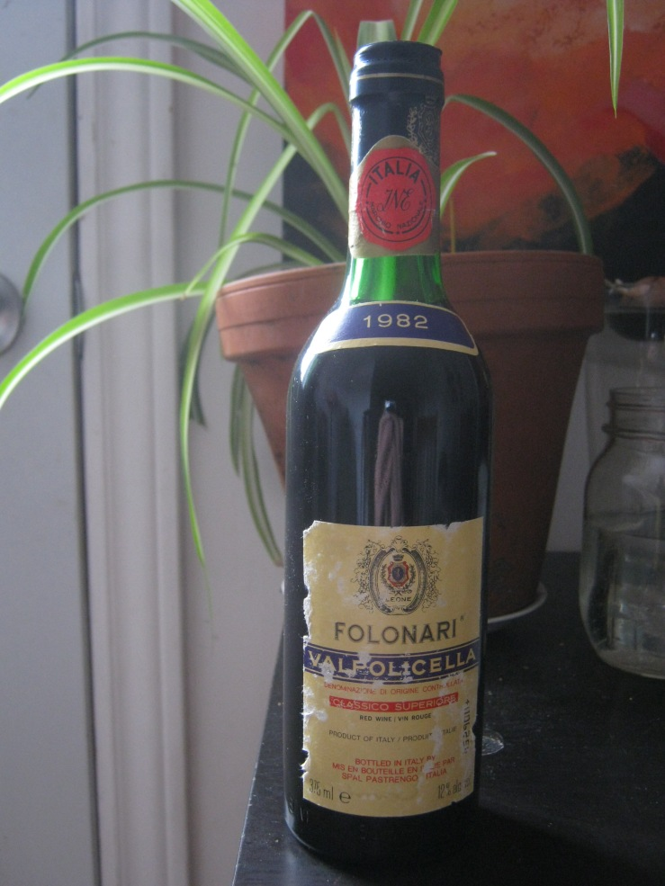 folonari valpolicella vintage wine 1982