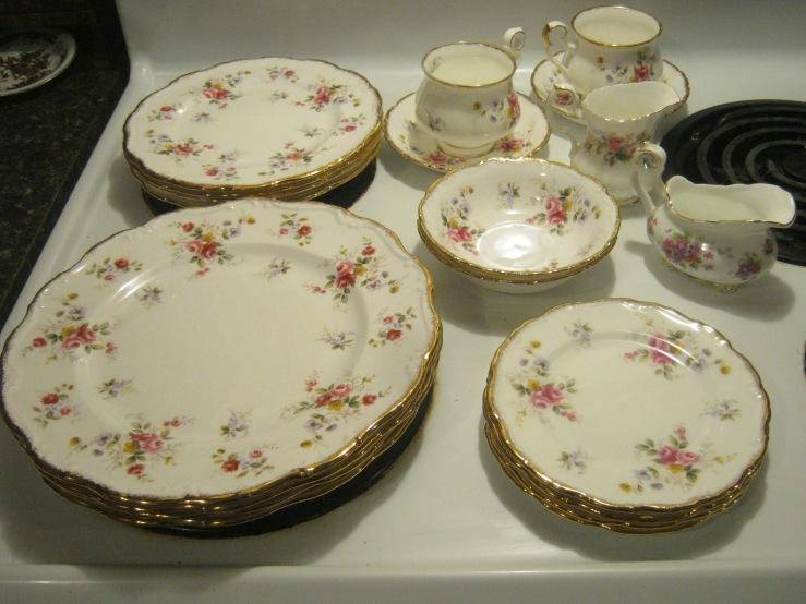 royal albert bone china tenderness england