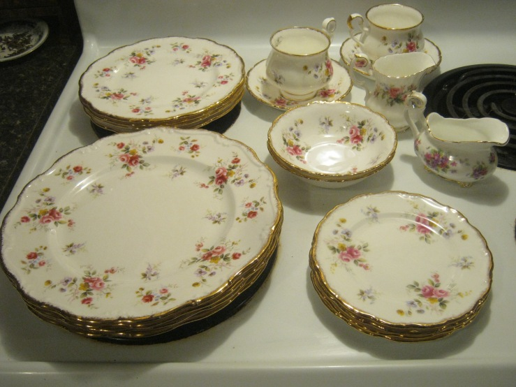 royal albert bone china tenderness england