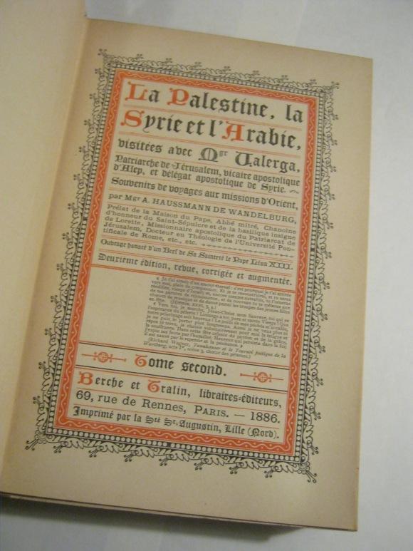 palestine book 1886