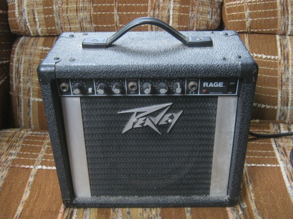 peavey rage amplifier