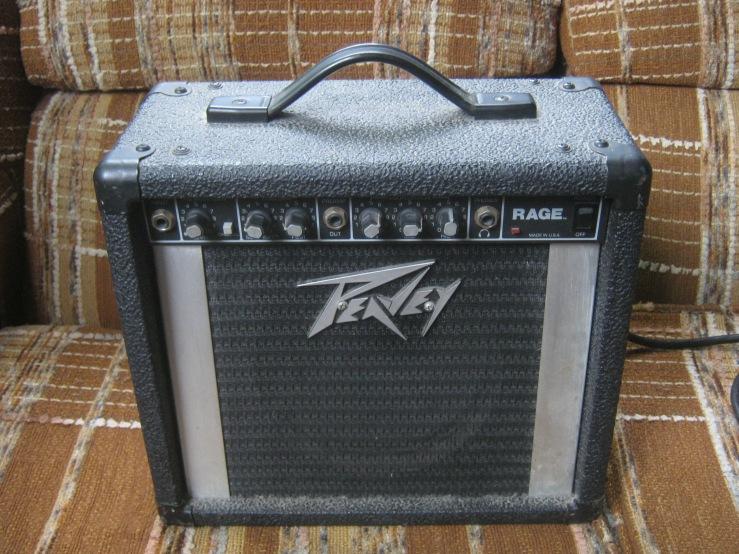 peavey rage amplifier