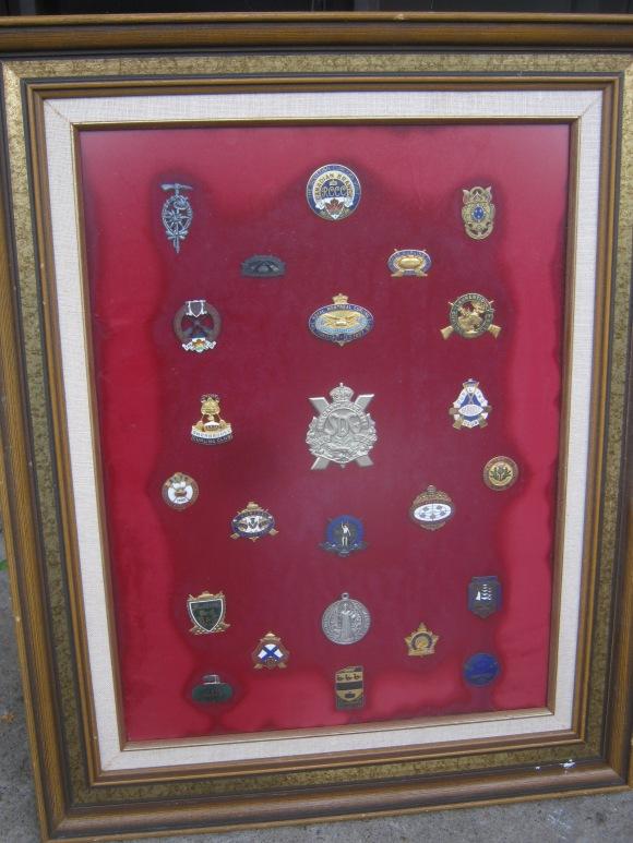 old pins