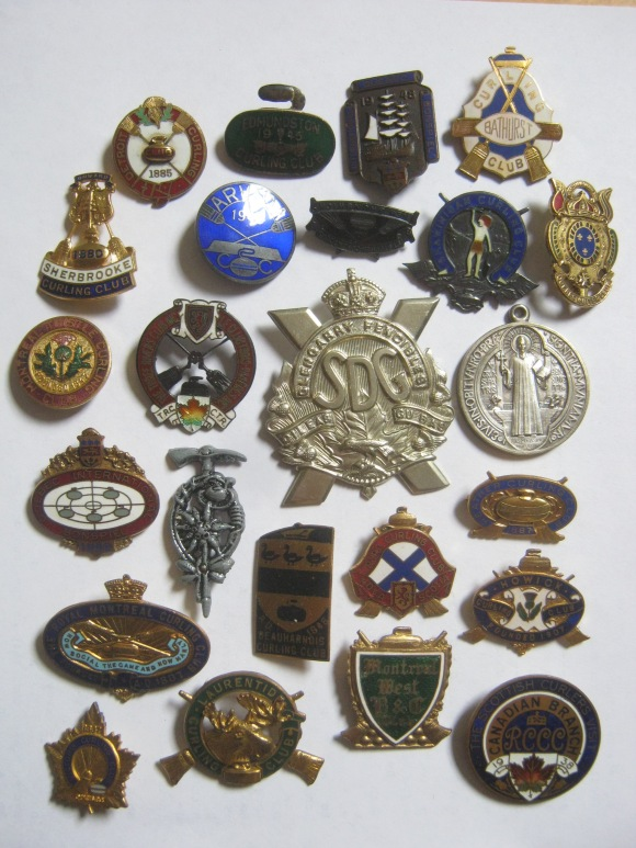 old pins curling quebec fencibles